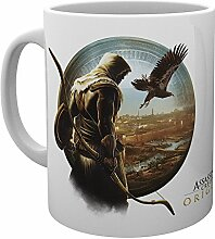 GB Eye Assassins Creed Origins Eagle Becher, Holz,