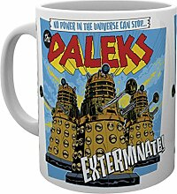 GB Eye Doctor Who The Daleks Becher, Holz,