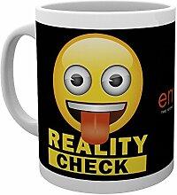 GB Eye Emoji-Wirklichkeit, Becher, mehrfarbig