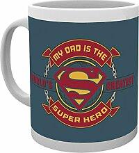 GB Eye Foto mit Aufschrift Dad Super Hero Superman