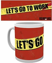 GB Eye Go To Work Reservoir Dogs Becher, mehrfarbig