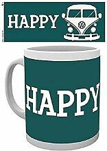 GB Eye Limited VW Happy Camper Becher, Mehrfarbig