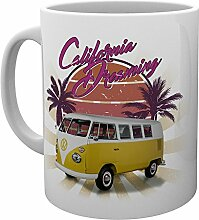 "GB Eye VW Camper ""Cali Retro"" Becher,"