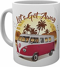 "GB Eye VW Camper ""Lets Get Away Sunset"""