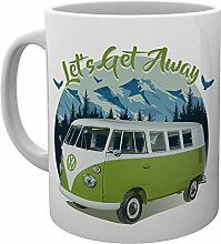 GB Eye VW Camper Lets Get Away Mountain Becher,