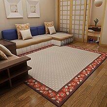 GBBD Teppiche Teppich Schlafzimmer Nachttisch Teppich Rechteckigen Couchtisch Studie Europäischen Wohnzimmer Teppiche 130 × 190 cm (Farbe : C)