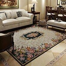 GBBD Teppiche Teppich Teppich Wohnzimmer Couchtisch Studie Teppich Europäischen Schlafzimmer Rechteckigen 120 × 180 cm (Farbe : C)