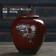 GBCJ Chinesische Teekanne mit Rohkeramik,