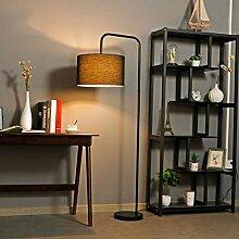 GBHJJ Stehlampe Led Dimmbar, Metall Retro Moderne