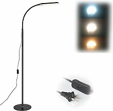 GBHJJ Stehlampe Led Dimmbar, Modernes Stehlicht 3