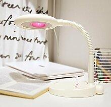 GBT Kinder lernen Schreibtisch SCHLAFZIMMER Nachttisch Lampe? LED Lichter, warm, Licht, Weißes Licht, Kronleuchter, innen-Lichter, Leuchten, Wand-?, ro