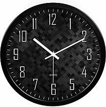 GBT Wohnzimmer Kreative Moderne Uhr / Wanduhr Schlafzimmer Ruhige Persönlichkeit,D,12 Zoll
