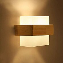GBX Leuchten für Wand, Wandleuchte Massivholz