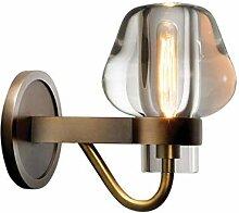 GBX Lichter für Wand, Wandlampe Vollkupfer