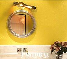 GBX Wandleuchten, Einfache Retro-Bronze-Spiegel