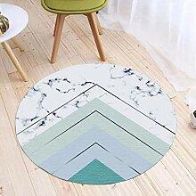 GBX Wohnkultur Kreative Teppich Einfache