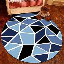 GBX Wohnkultur Kreative Teppich Geometrische Rund