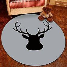 GBX Wohnkultur Kreative Teppich Rutschfeste
