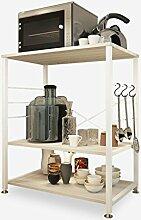 GBY Mikrowellen-Regal 3-stöckig Küchenregal