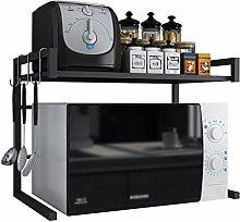 GBY Mikrowellen-Regal Küchenregal, ausziehbar,