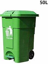 GBY Mülleimer für den Außenbereich, Kunststoff,