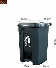 GBY Mülleimer für den Außenbereich, Trittkiste,