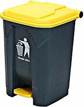 GBY Mülleimer Kunststoff Flip Mülleimer Outdoor