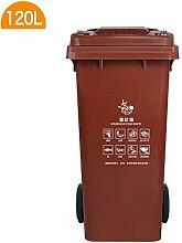 GBY Mülleimer Mülleimer mit Seilzug für den