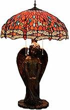 GBYN Tiffany-Stil Glaslampe, 50CMX81CM, 40W, für