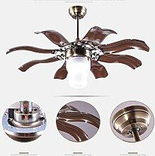 GBYZHMH Kronleuchter LED-Decke Ventilator