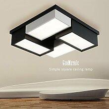 GBYZHMH LED Deckenleuchte, Quadrat Schlafzimmer