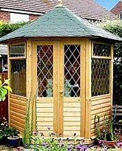 GC Georgion Gartenlaube mit Dachschindeln