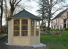 GC Harrogate Gartenlaube mit Dachschindeln groß,