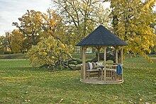 GC Villandry Gartenlaube mit Zederdach, 240cm