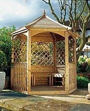 GC Winchester Gartenlaube mit Holzdach, mittelgroß