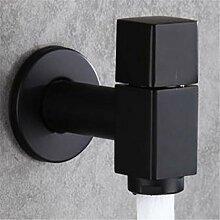 Gcbpwh Wasserhahn Messing Schwarz Farbe Wasserhahn