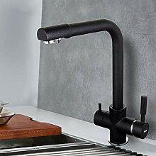 Gcbpwh Wasserhahn New Black Küchenarmatur Seven