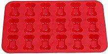 GCCI 18 Löcher Hundeknochen Silikon Backform