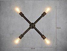 GCCI Home Retro Kronleuchter Wandlampe zu Wasser