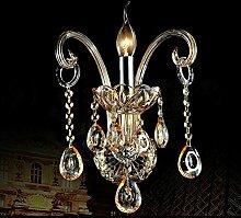 GCCI Kristall Wand Lampe Kerze Kristall Wand Lampe