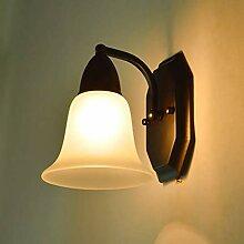 GCCI Lampe Eisenwand aus Glas Einfach und kreativ