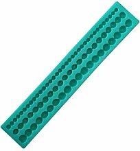 GCCI Langer Streifen Perlen 3D Silikonform