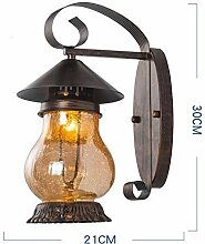 GCCI Retro Wandlampe aus Eisen, Haus