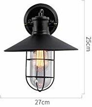 GCCI Retro Wandlampe Lampe Außenwand, Creative