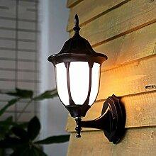 GCCI Wandleuchte Lampe Außenwand wasserdicht,