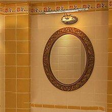 GCCI Wasserdichte Retro Led Badezimmerspiegel eine