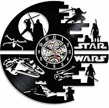 GCCLCF Star Wars Todesstern - Designed Wanduhr -