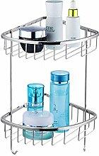 GCCRR Towel Holders/Towel Stands Badezimmer Regal Handtuchhalter Kupfer Stativ Bohranlage Badezimmer Hardware Storage Racks Küche Eckablage Wandbehang