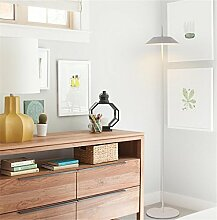 GCR&LIGHT® Stehlampe Einfach Modern Persönlichkeit Eisen Stehlampe Wohnzimmer Restaurant Schlafzimmer Studie Stehlampe,white