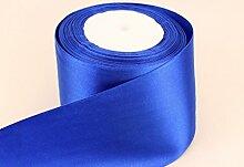 GCS London, Satinband, königsblau, 50mm breit,